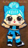 LOL Troublemaker Doll Applique Design