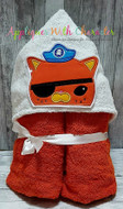 Octonauts Kwazii Peeker  Applique Design