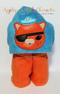 Octonauts Kwazii Applique Design