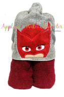 Masks Owlette Peeker Applique Design