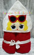 LOL Leading Lady Doll Peeker Applique Design