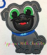 Puppy Friends Bingo Applique Design
