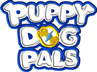 Puppy Friends Logo Applique Design