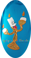 Lumiere - Beauty and the Beast Applique Design