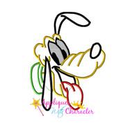 Pluto Face Applique Design