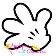Mickie Minny Hand Applique Design
