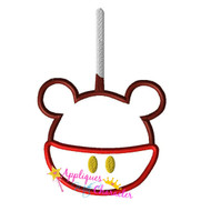 Mickie Candy Apple Applique Design