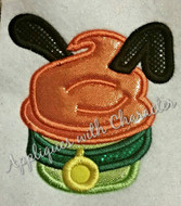 Plooto Cupcake   Applique Design