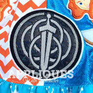 Brave Movie Crest   Applique Design
