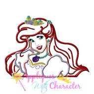 Ariela Mermaid   Applique Design