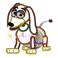 Slinky Dog Toy Applique Design
