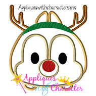 Christmas Dale Tsum Tsum Applique Design