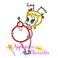 Christmas Cindy Lou Who Applique Design