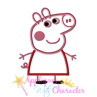 Pepper Pig  Applique Design