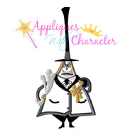Mayor Nightmare Before Christmas Applique Design