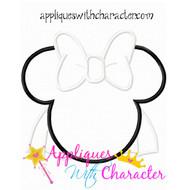 MRS Minny Bride Applique Design