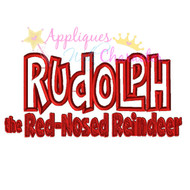 Rudolph Logo Applique Design