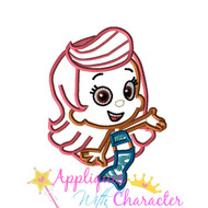 Bubble Guppies Molly Applique Design
