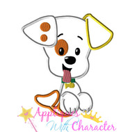 Bubble Guppies Puppy Applique Design