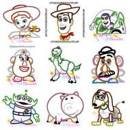 Toy Story Applique Design Set