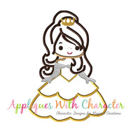 Bella Cutie Applique Design