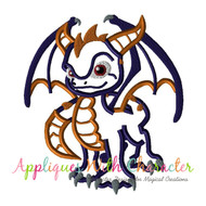 Skylander Spyro Applique Design