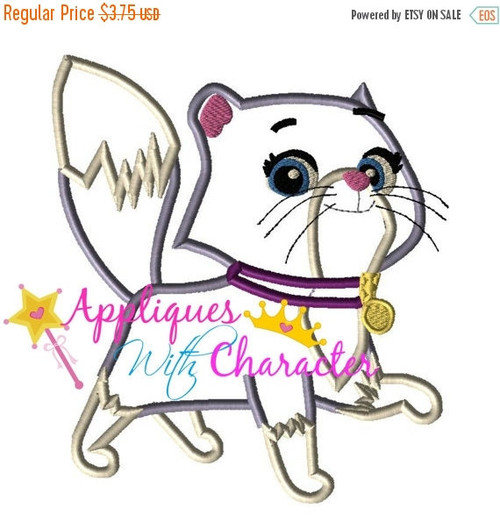 Paw Patrol Callie Cat Applique Design