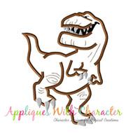 Butch Good Dinosaur Applique Design
