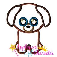 Beanie Boo Dog Applique Design