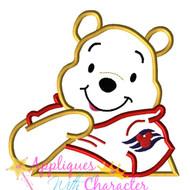 Pooh Cruise Applique Design