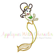 Little Mermaid Sister 2 Applique Design