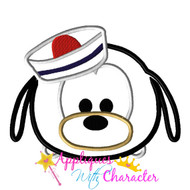 Goofy Cruise Tsum Tsum Applique Design