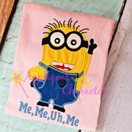 Phil Minion Applique Design