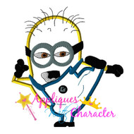 Ninja Minion Applique Design