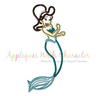 Little Mermaid Sister 3 Applique Design