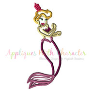 Little Mermaid Sister 4 Applique Design