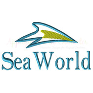 Sea World Applique Embroidery Design