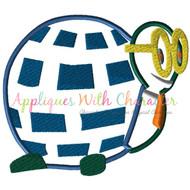 Electrical Parade Turtle Applique Design