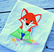 Zootopia Inspired Nick Wiilde Bust Applique