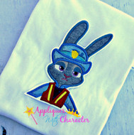 Zootopia Inspired Judy Hops Applique
