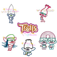 Trolls Movie Applique Design Set