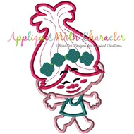 Troll Movie Poppy Cutie Applique Design