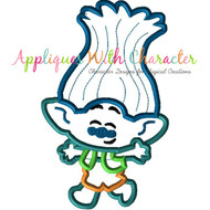 Troll Movie Branch Cutie Applique Design