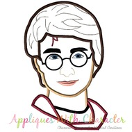 Harry Potter Bust Applique Design