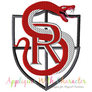 School Of Rock Badge Applique Design