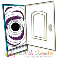 Coraline Door Applique Design