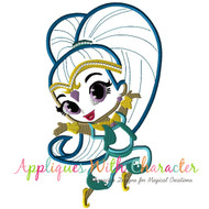 Shine Genie Applique Design