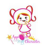 Umizoomi Milli  Applique Design