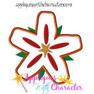 Moana Flower Applique Design