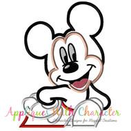 Mickie Bust Applique Design